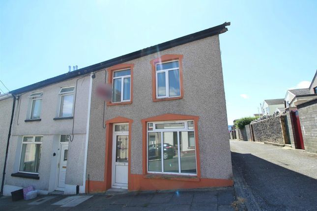 Thumbnail End terrace house for sale in Alfred Street, Dowlais, Merthyr Tydfil
