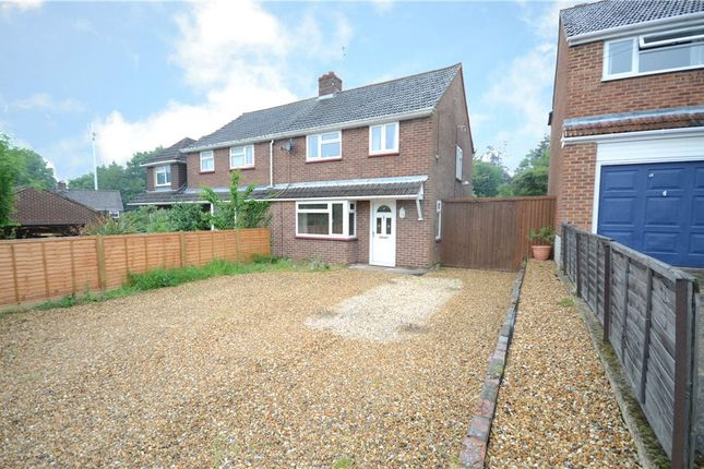 Thumbnail Semi-detached house for sale in Crowthorne Road, Sandhurst, Berkshire