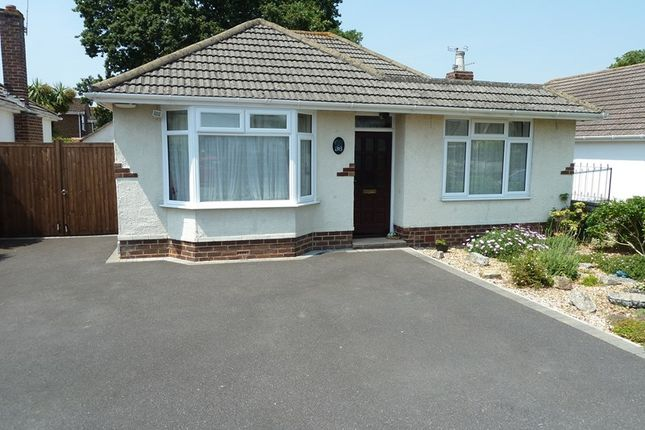 Thumbnail Detached bungalow for sale in Weldon Avenue, Bear Cross, Bournemouth