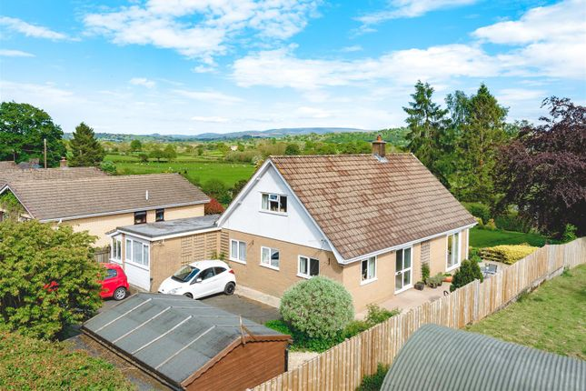 Thumbnail Detached bungalow for sale in Cagebrook Lane, Llanyre, Llandrindod Wells