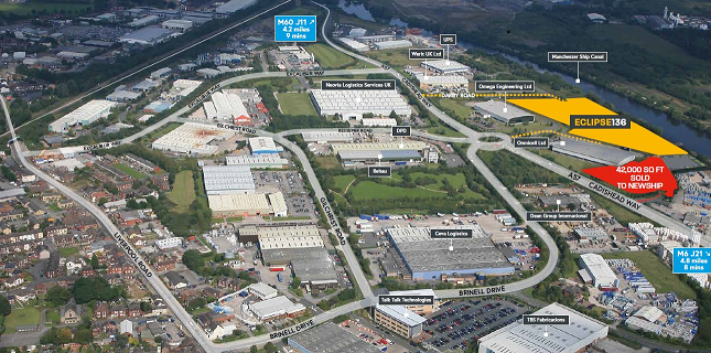Thumbnail Warehouse for sale in Eclipse, Northbank Industrial Estate, Irlam, Manchester