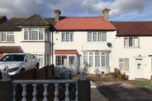 Thumbnail Terraced house to rent in Pollards Hill North, Norbury