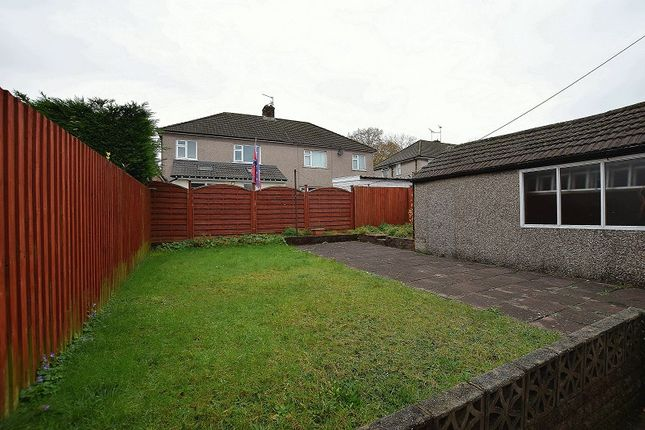 Rear Garden of Mayflower Avenue, Llanishen, Cardiff. CF14