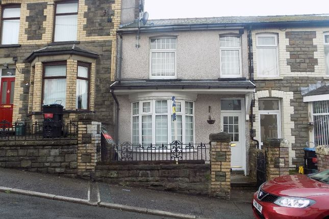 Thumbnail 3 bed terraced house for sale in Coronation Road, Six Bells, Abertillery