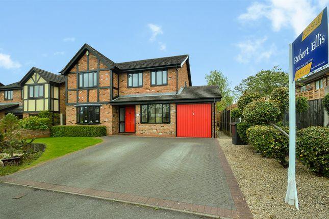 Thumbnail Detached house for sale in Cooks Drive, Castle Donington, Derby