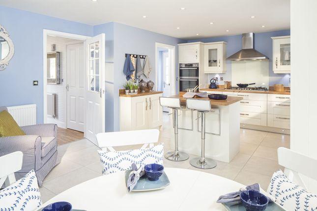 "Thumbnail Detached house for sale in ""Staunton"" at Warkton Lane, Barton Seagrave, Kettering"