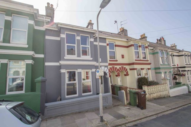 Thumbnail Terraced house for sale in Oxford Avenue, Plymouth