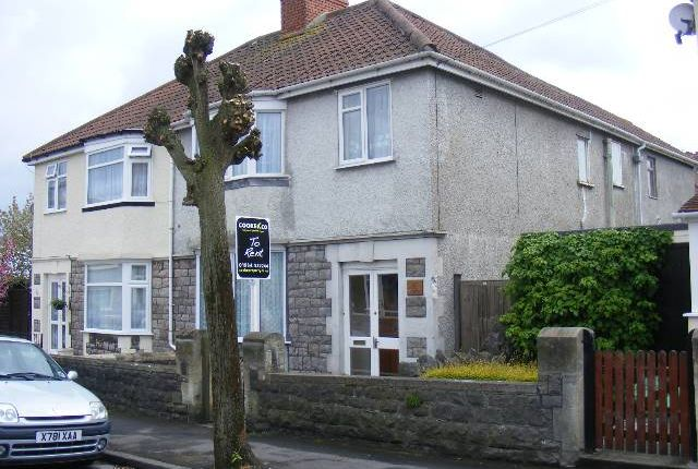 Thumbnail Flat to rent in Addicott Road, Weston-Super-Mare, North Somerset