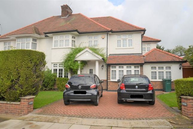 Thumbnail Semi-detached house to rent in Woodland Way, Mill Hill