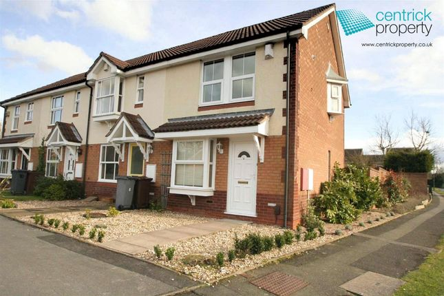 Thumbnail End terrace house to rent in Alderminster Road, Solihull