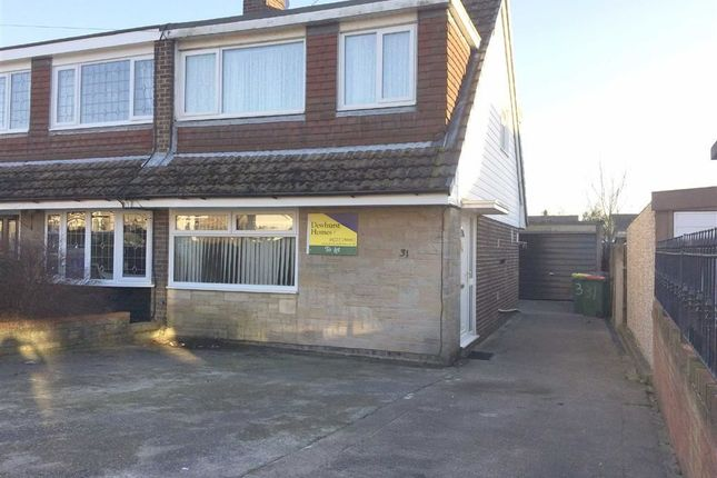 Thumbnail Semi-detached bungalow to rent in Ashfield, Fulwood, Preston
