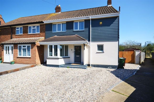 Thumbnail Semi-detached house for sale in Thames Close, Corringham, Stanford-Le-Hope