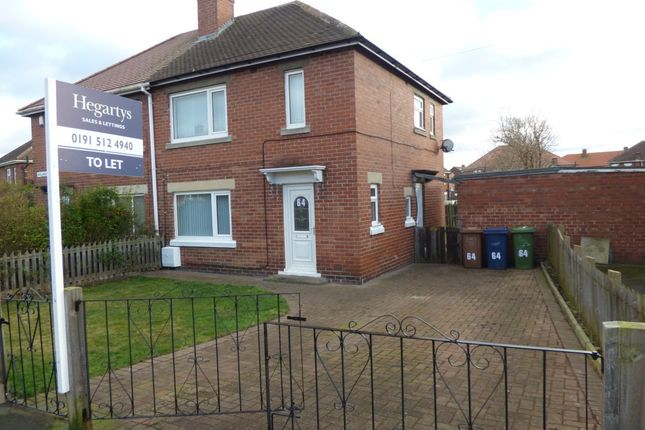 2 bed terraced house to rent in Rose Avenue, Fencehouses, Houghton Le Spring DH4