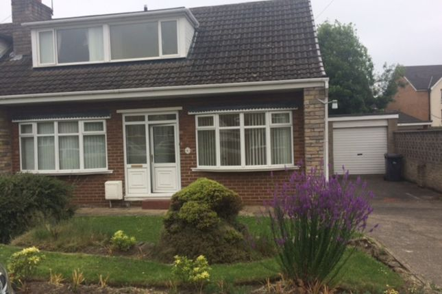 Thumbnail Semi-detached bungalow to rent in 6 Fairways, Wickersley, Rotherham.