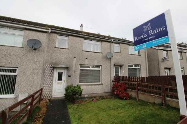 Thumbnail Terraced house to rent in Ardgheean Gardens, Bangor