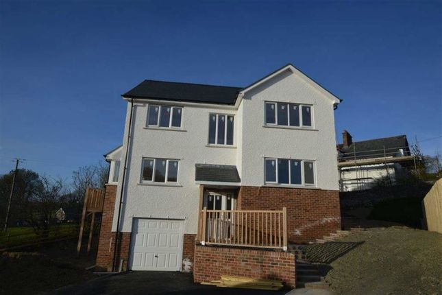 Thumbnail Detached house for sale in New Build, Plot 1, Adj To Ty'r Ysgol, Lledrod, Aberystwyth, Ceredigion