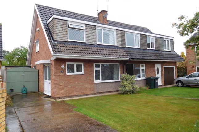 Thumbnail Semi-detached bungalow for sale in Westmoreland Way, Doncaster