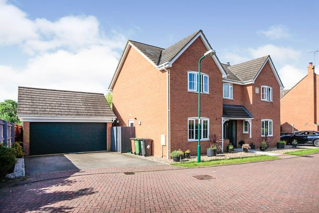 Thumbnail Detached house for sale in Loch Fyne Close, Orton Northgate, Peterborough