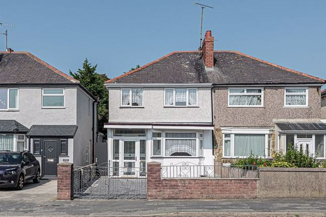 Thumbnail Semi-detached house for sale in London Road, Holyhead