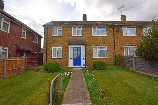 Thumbnail End terrace house for sale in Sturry Way, Gillingham, Kent