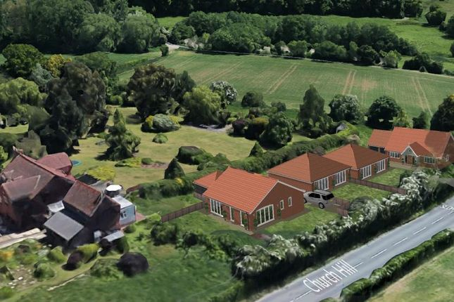 Thumbnail Detached bungalow for sale in Church Hill, Holbrook, Ipswich