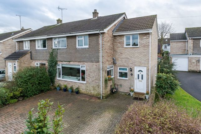Thumbnail Semi-detached house for sale in Willow View Close, Malmesbury