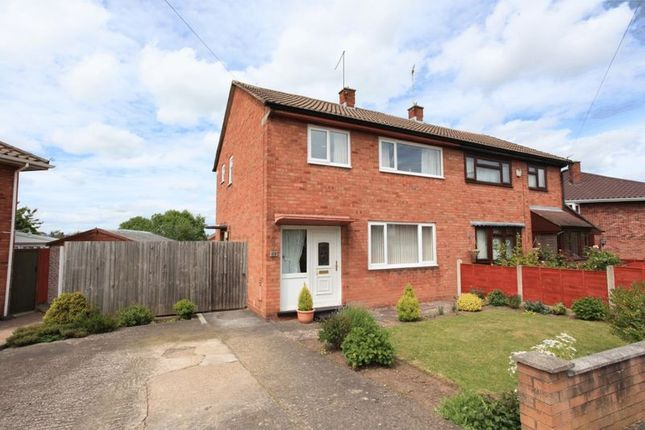 Thumbnail Semi-detached house for sale in Weston Drive, Wellington, Telford