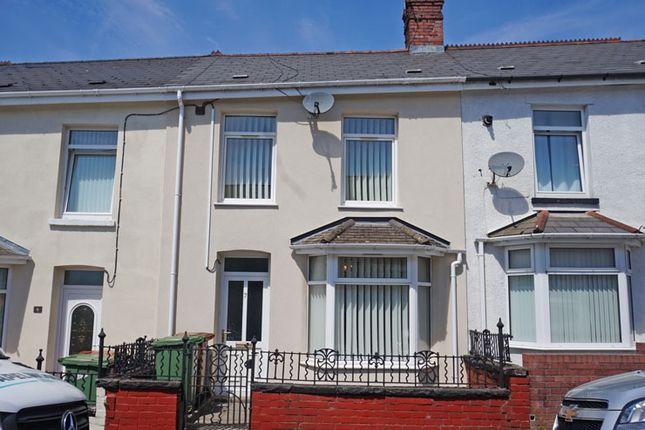 Thumbnail Terraced house for sale in Bedwlwyn Street, Ystrad Mynach, Hengoed