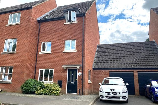 Thumbnail Town house for sale in Phelps Mill Close, Dursley