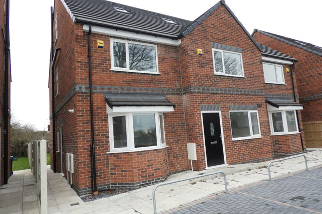 Thumbnail Semi-detached house to rent in Marlborough Road, Askern, Doncaster