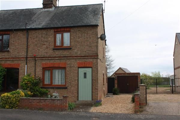 Thumbnail Semi-detached house to rent in High Street, Upwood, Ramsey, Huntingdon