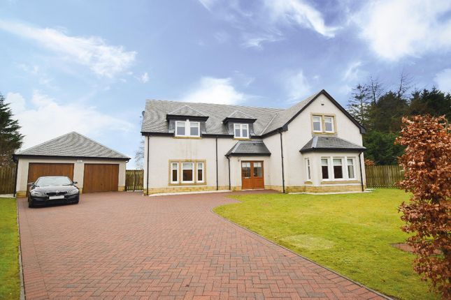 Thumbnail Detached house for sale in Brookfield Grove, Fenwick, Kilmarnock