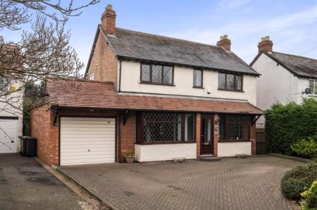 Thumbnail Detached house for sale in Cornyx Lane, Solihull, West Midlands