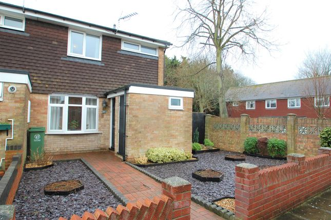 Thumbnail End terrace house to rent in The Ridings, Portsmouth