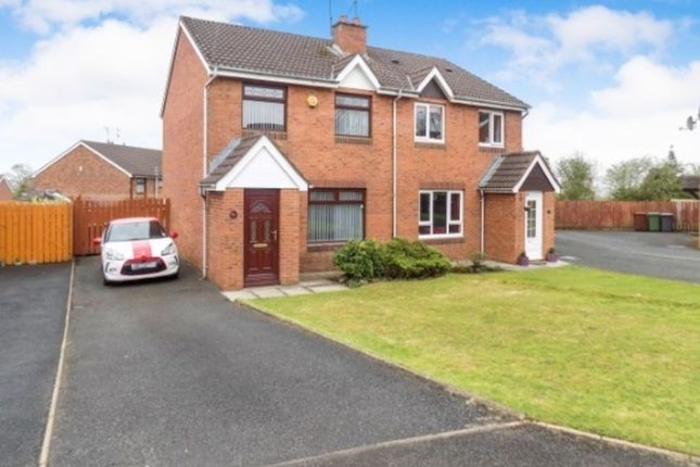 Thumbnail Semi-detached house to rent in Glenwood Court, Ballinderry Upper, Lisburn