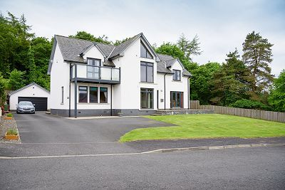 Thumbnail Detached house for sale in Doonhill Wood, Newton Stewart