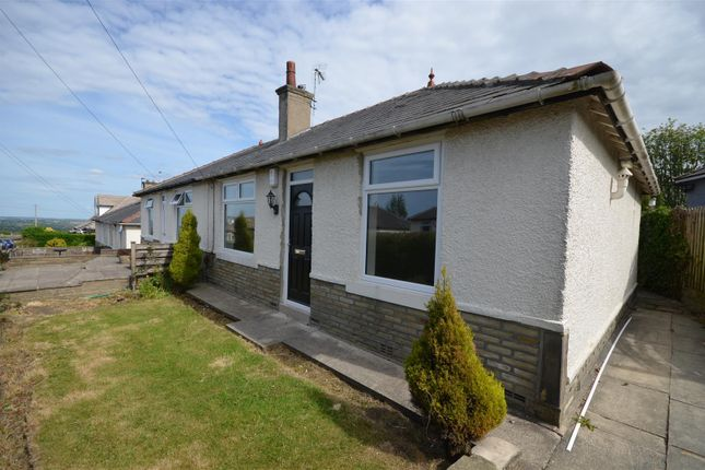 Thumbnail Semi-detached bungalow to rent in The Crescent, Southowram, Halifax
