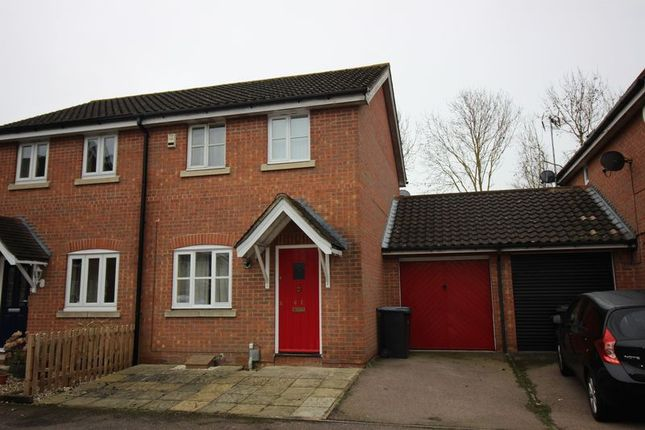 Thumbnail Semi-detached house for sale in Abbeydale Close, Church Langley, Harlow