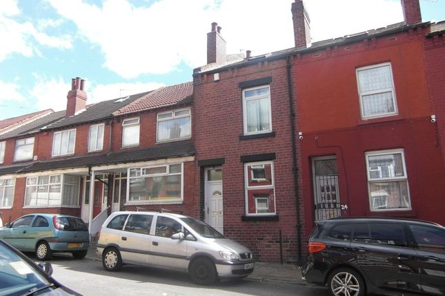 Thumbnail Terraced house to rent in Sandhurst Road, Leeds