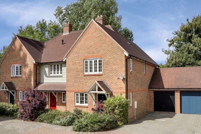 Thumbnail End terrace house for sale in Lancaster Drive, Hawkinge, Folkestone