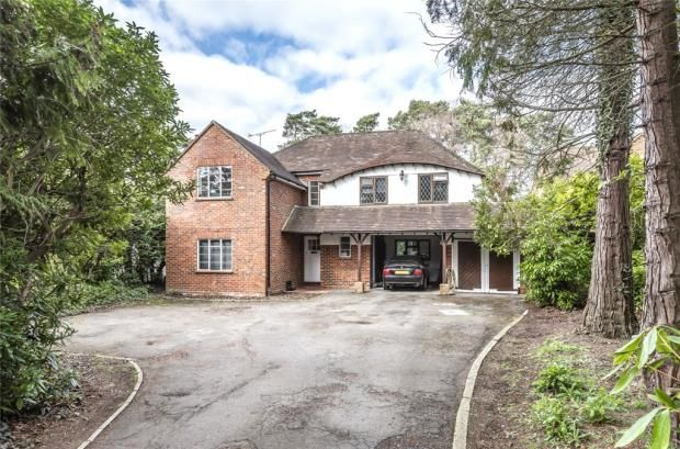 Thumbnail Detached house for sale in Heather Drive, Ascot, Berkshire