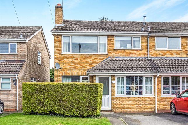 Thumbnail Semi-detached house for sale in Ettington Close, Wellesbourne, Warwick