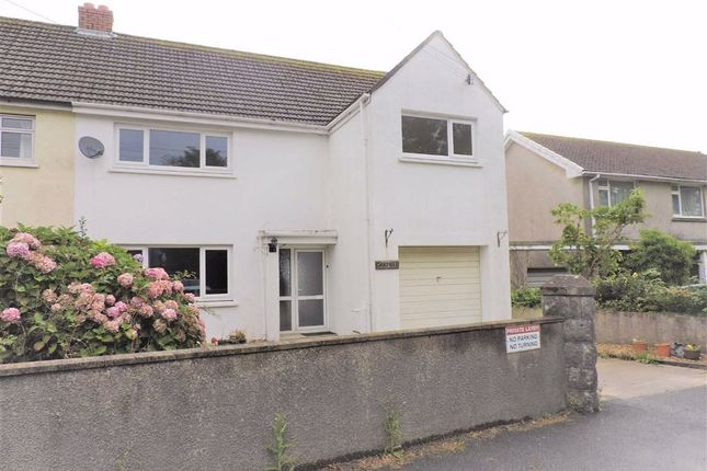 Thumbnail Semi-detached house for sale in Jesse Road, Narberth, Pembrokeshire