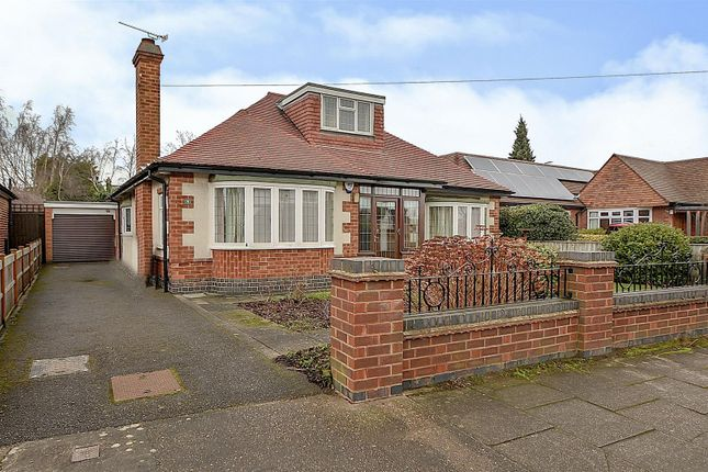 Thumbnail Detached bungalow for sale in Hillside Drive, Long Eaton, Nottingham