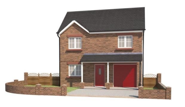 Thumbnail Detached house for sale in Plot 1, Hawthorn Close, Gretna, Dumfriesshire