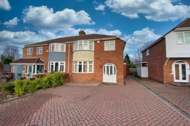 Thumbnail Semi-detached house to rent in Coniston Road, Sutton Coldfield