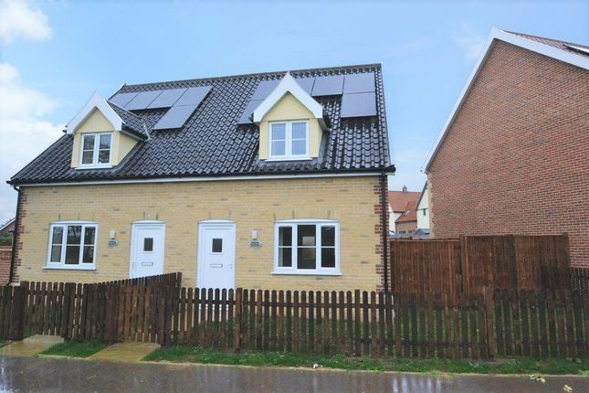 Thumbnail Semi-detached house for sale in Lopham Road, East Harling
