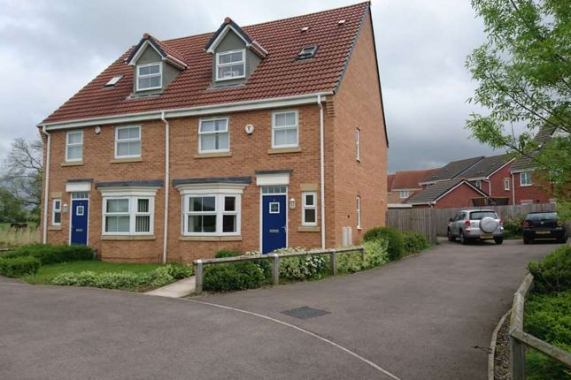 Thumbnail Semi-detached house to rent in Picton Close, Hamilton, Leicester