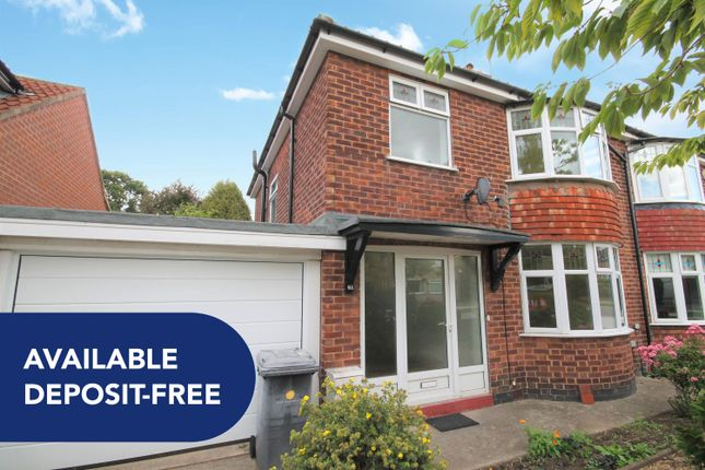 Thumbnail Semi-detached house to rent in Middlethorpe Grove, York