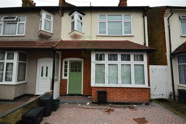 Thumbnail Semi-detached house for sale in Cowley Road, Ilford, Essex